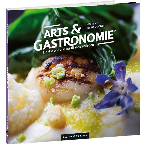 On parle de nous!       Arts et Gastronomie – Printemps 2018 #48